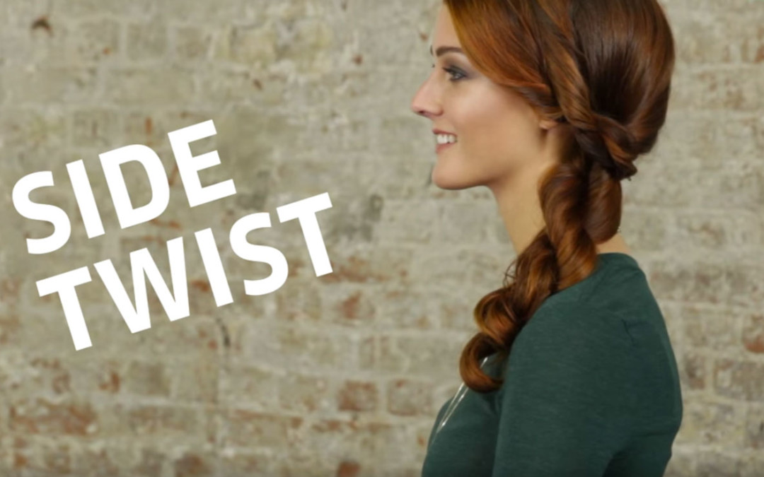 How To Side Twist Hairstyle